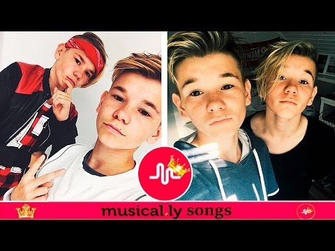 ♦ Best Marcus And Martinus Musical.ly Compilation - New Musicallys 2016 - YouTube
