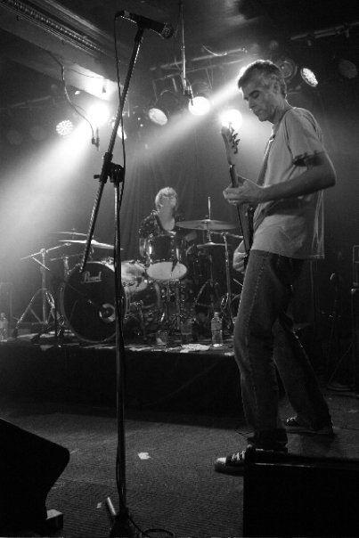 Bambino Koresh rhythm section: Tom Morgan and Sarah McEwan