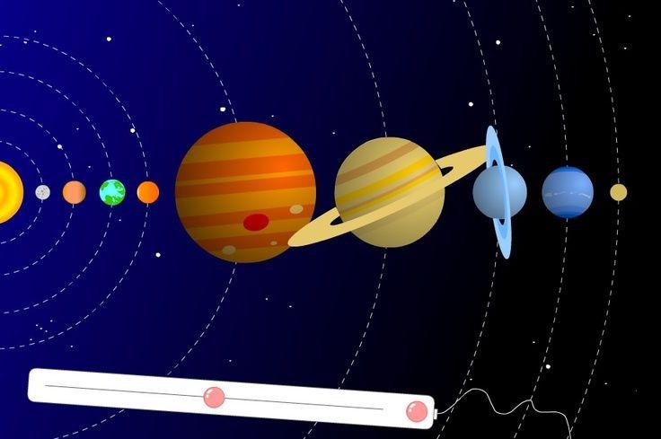 Animaties dag/nacht, de maan, zonsverduistering, eb en vloed, e.d.: