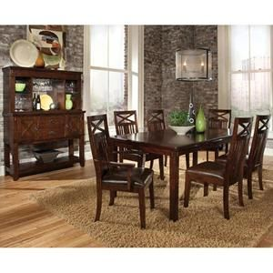 Standard Furniture Sonoma 8 Piece Leg Dining Room Set W Sideboard