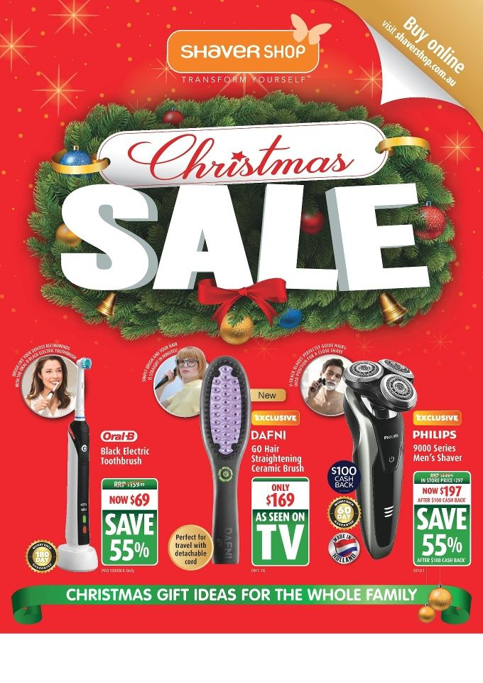 Shaver Shop Catalogue 14 November - 24 December 2016 - http://olcatalogue.com/ss/shaver-shop-catalogue.html