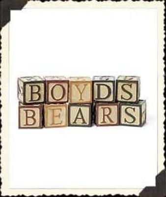 Boyds Bears Antique Wooden Blocks