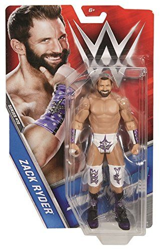 "WWE Basic Zack Ryder Series 72 Figure. Bring home the action of the WWE. Recreate your favorite matches with an approximately 6-inch figure in ""Superstar scale"". Pose him in a menacing stance, pair him with another figure to battle or create total mayhem by adding multiple figures (each sold separately, subject to availability). Features articulation, amazing accuracy and authentic Superstar details. Let the WWE mayhem begin."