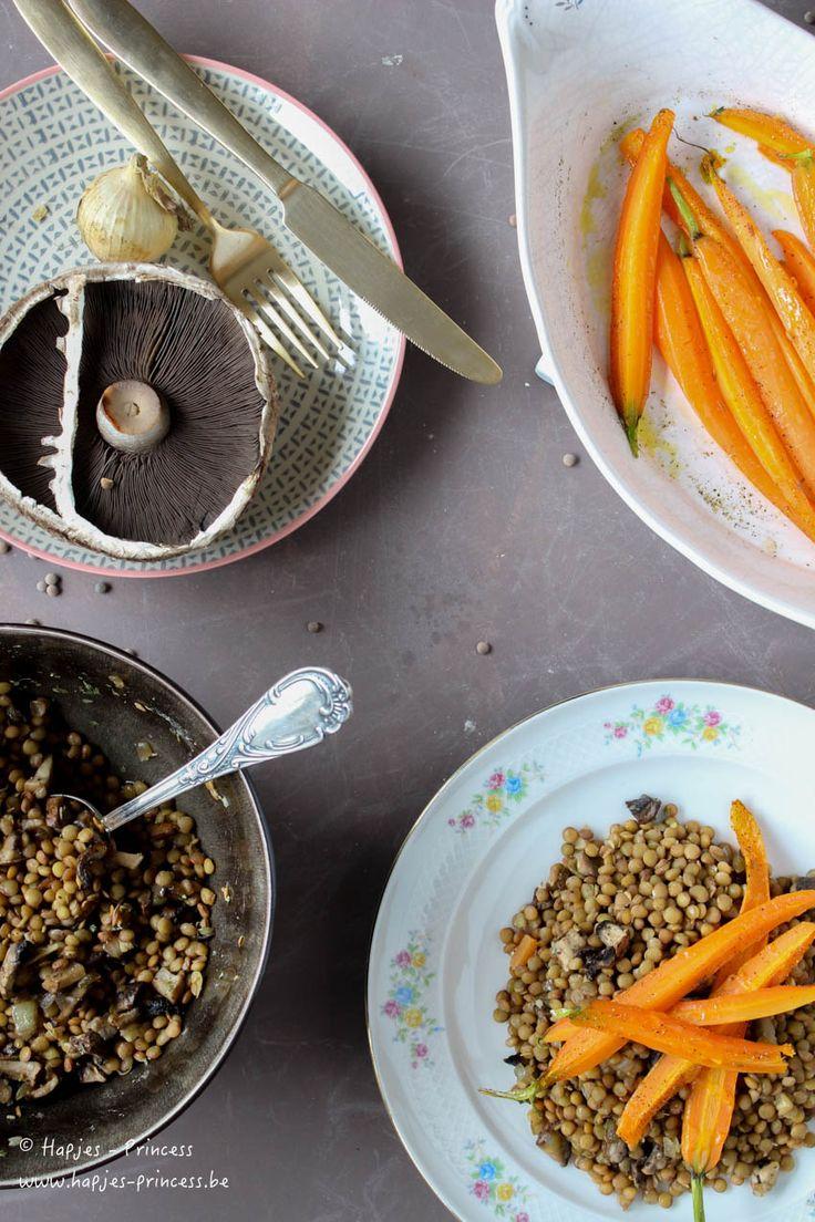25+ beste idee u00ebn over Geroosterde Wortelen op Pinterest   Wortel recepten, In honing geroosterde