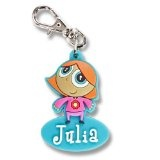 Zipper Pals Reißverschlussanhänger für Kinder Anhänger Mädchen Julia