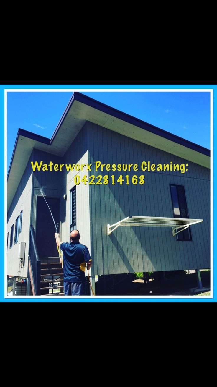 Exterior house cleaning by Waterworx Pressure Cleaning in Ipswich visit us - www.waterworxpressurecleaning.com.au