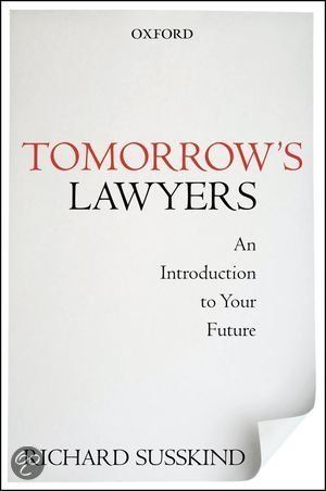 bol.com | Tomorrow's Lawyers, Richard E. Susskind | 9780199668069 | Boeken