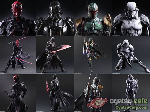Square Enix takes on Star Wars Characters!