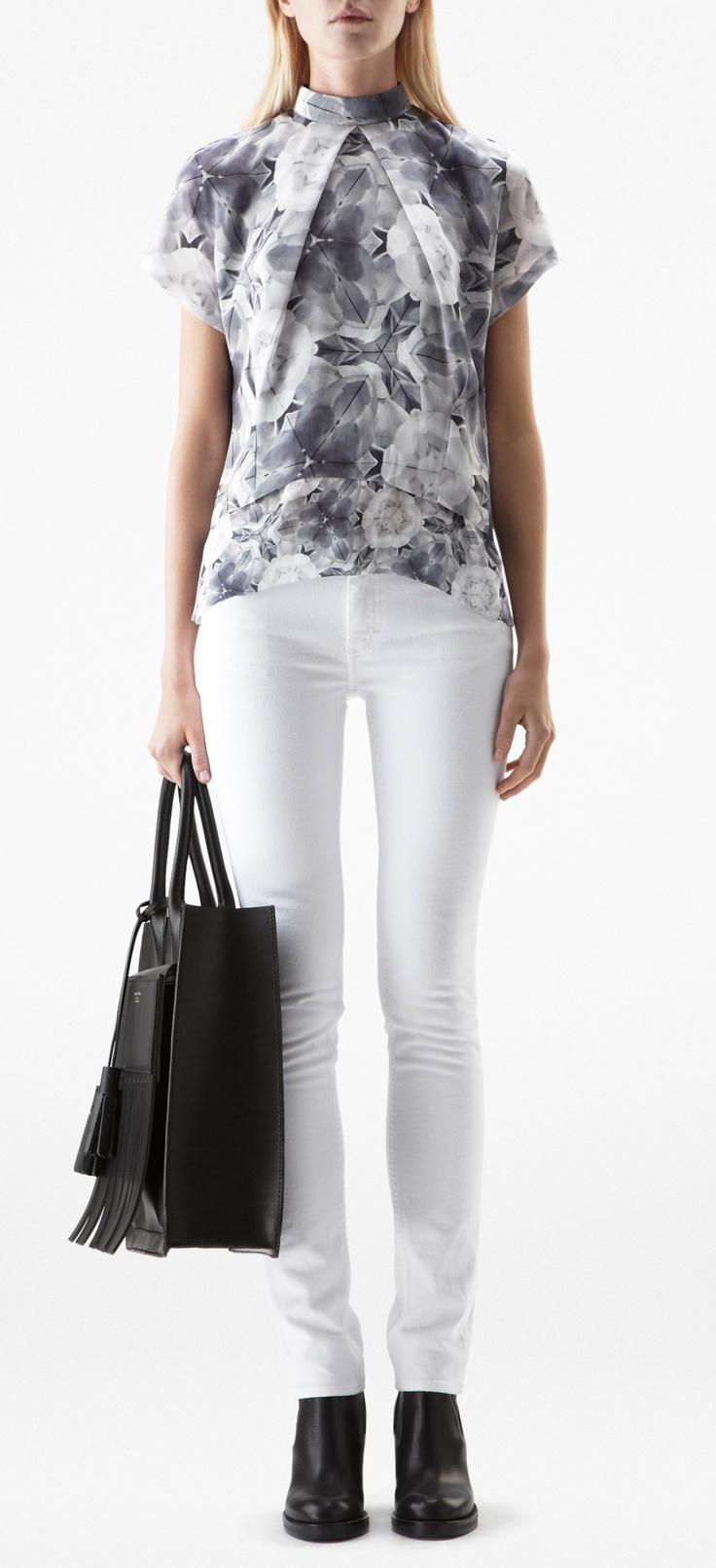 Sweet Print Kaleidoscope blouse by Acne