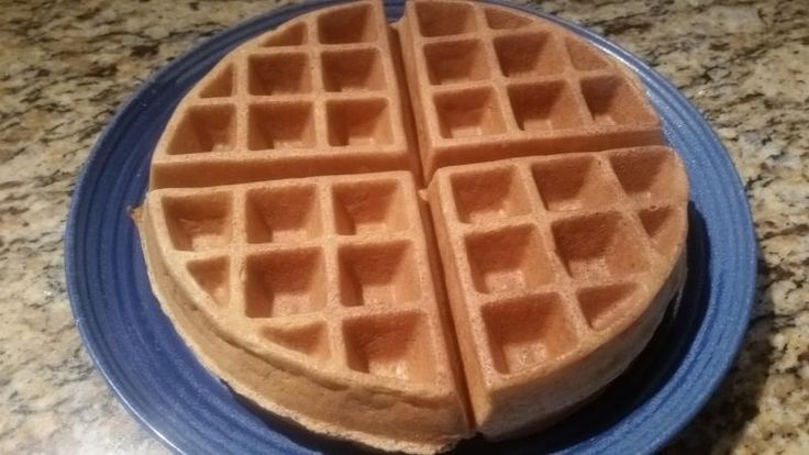 Toffee Waffle - egg, egg whites, coconut flour, flax meal, baking powder, English Toffee stevia (sub regular stevia + toffee/maple/other extract)