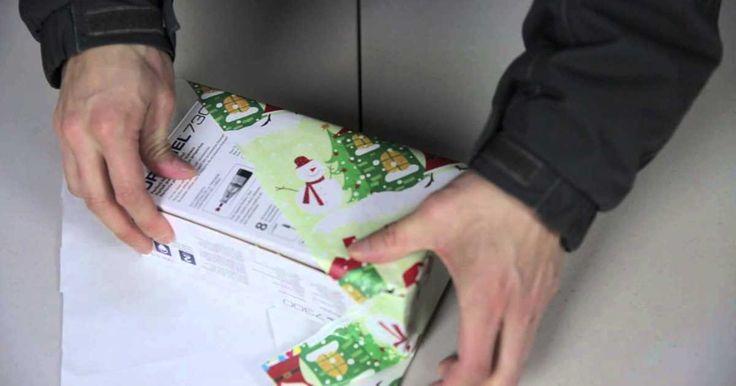 Japonský způsob balení dárků + Video návod