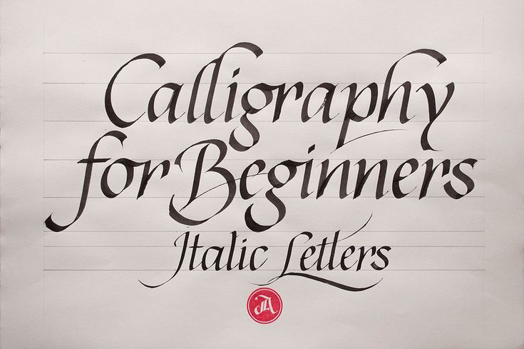 Calligraphy for beginners is a three class sequence for anyone who wants to start studying calligraphy.  This is the second installment of that sequence.