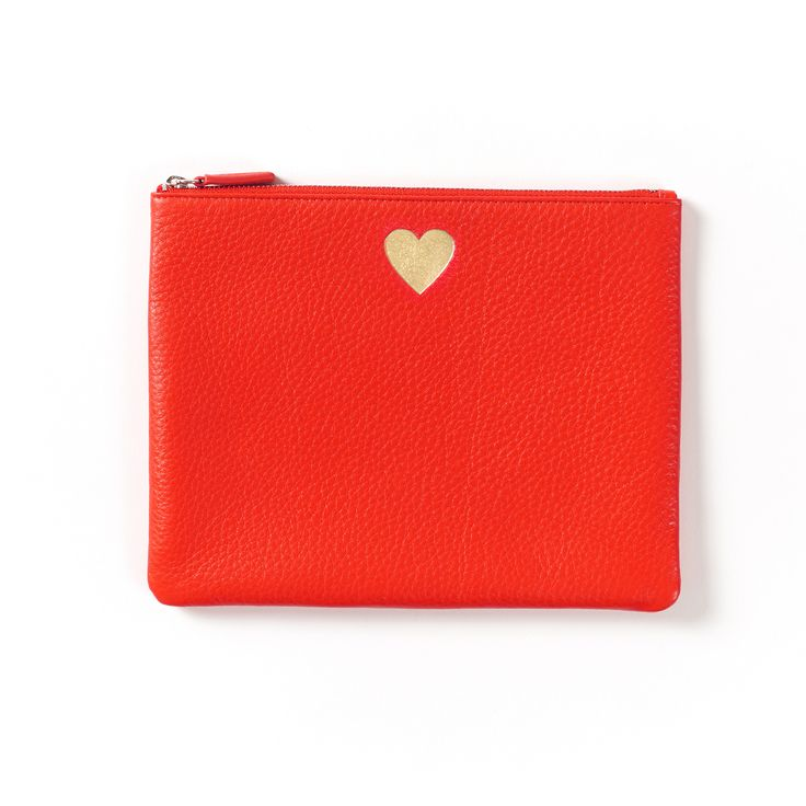 Beautiful Presents For Her Part - 49: Show Some Love With Our Beautiful Leather Heart Pouch | An Ideal Companion  For Any Purse · Red LeatherGifts For HerPoppies