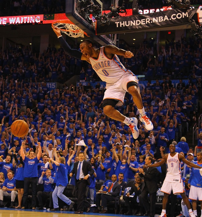 Russel Westbrook okc thunder - this is AMAZING!