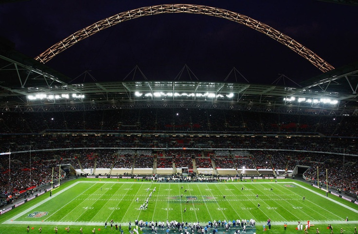The NFL takes on London, England. Find out how you can go to the NFL International Game at Wembley Stadium! #NFL #IntlGame #Football