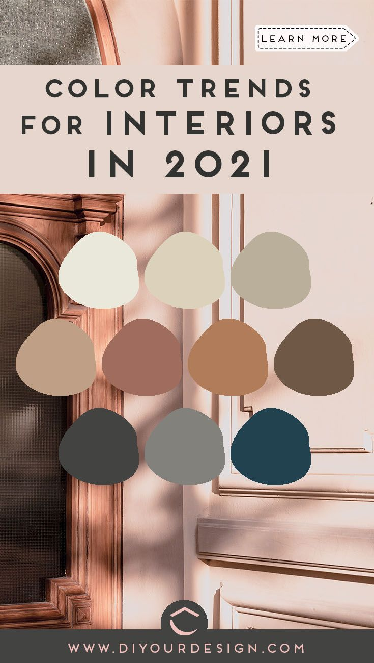 Announcing Color Trends For Home In 2021 In 2021 Paint Colors For Home Home Decor Colors Trending Paint Colors