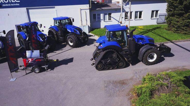 Průběh zvýšení výkonu u traktorů - AGROECOPOWER