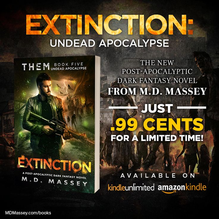Hooray! Extinction: Undead Apocalypse, the 5th and final novel in my #paranormal #post-apocalyptic series, is now available for just #99cents on #Kindle and #KindleUnlimited, and for just $9.95 in paperback: https://www.amazon.com/dp/B0789QPKDP/?utm_content=buffer9cfcf&utm_medium=social&utm_source=pinterest.com&utm_campaign=buffer https://www.amazon.com/dp/1976705657?utm_content=buffer4eca5&utm_medium=social&utm_source=pinterest.com&utm_campaign=buffer