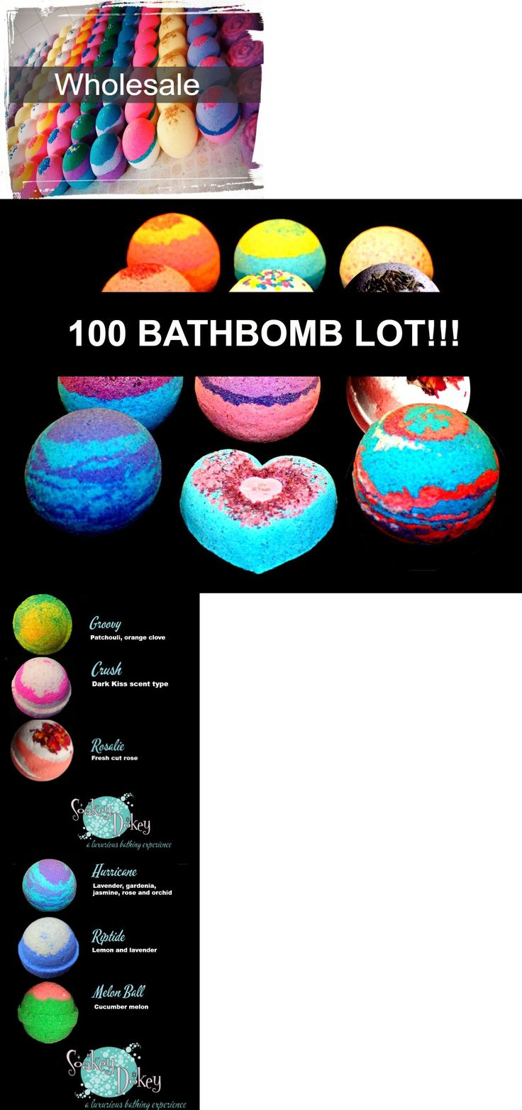 Bath Bombs and Fizzies: Bath Bomb Fizzy Wholesale 100 Bombs Large 4.5 Ounce Fizzies Organic -> BUY IT NOW ONLY: $259 on eBay!