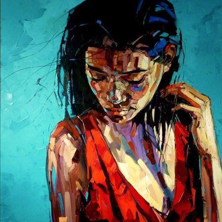 Les peintures de Anna Bocek !
