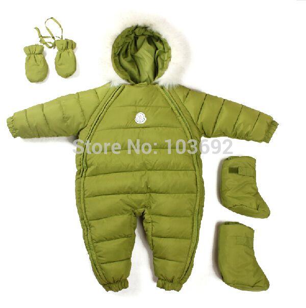 Оптовая продажа новая зимняя одежда для новорожденных мальчиков девочек детский комбинезон зимний младенческая утолщение общий комбинезон новорожденный носить