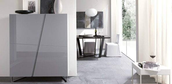 BIMAX - Design M+F - Diagonal - supplied by Puntodesign - chest of drawers