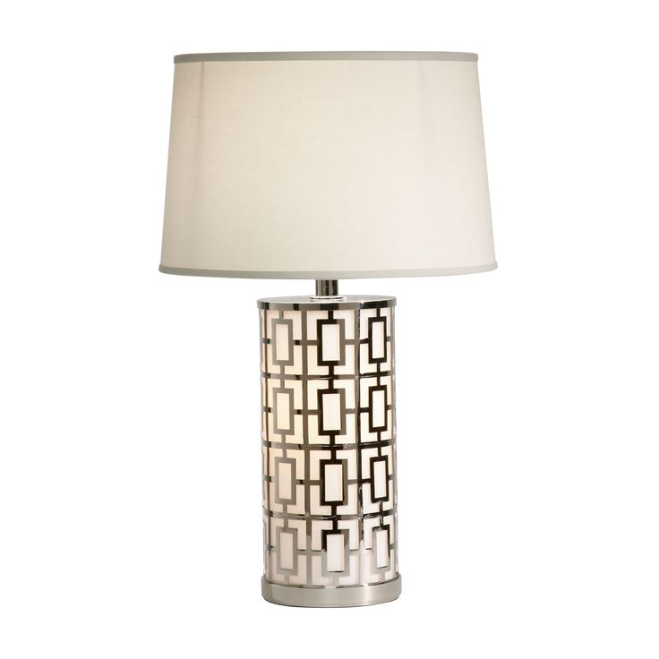 Geo symmetric table lamp ethan allen us