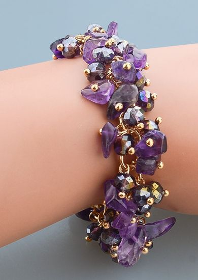 dark lavender crystal and gold bracelet $30 + free shipping http://www.thiscounts.ca/products/URYI5563 #thiscounts #discounts #shop #shopping #save #savings #sale #sales #deal #deals #jewelry #accessories #earrings #bracelets #lavender #trending #fashion #onlineshopping #canada #freeshipping
