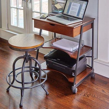 "Wellesley Mobile Office Desk $170 24""W x 18""D x 29""H"