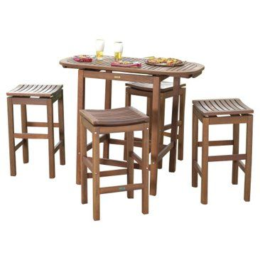 Check out this item at One Kings Lane! Noel 5-Piece Pub Dining Set