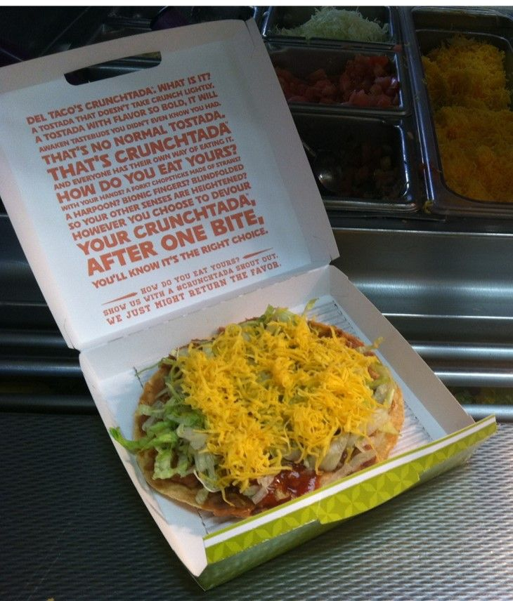 Try Turkey on a CrunchTada Tostada.  #TeamDelTaco #LetsTalkTurkey    http://contests.shareroot.co/del-taco-lets-talk-turkey-sweepstakes/?src=email&ref=NDc4NA