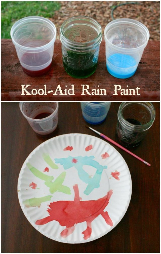 Kool-Aid Rain Paint - The Cloud Spinner by Michael Catchpool - Offtheshelfblog.com