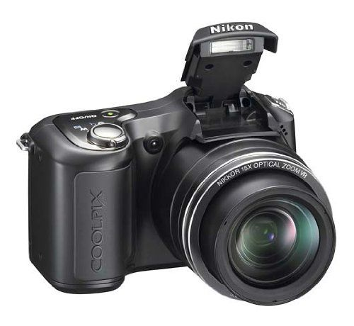 26170 Nikon Coolpix L100 Compact Camera 26170. Nikon Coolpix L100 10 Megapixel Compact Camera - Matte Black - 3 LCD - 15x Optical Zoom - 3648 x 2736 Image - 640 x 480 Video - PictBridge.