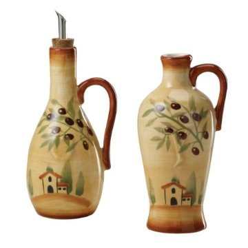 Tuscan Oil Amp Vinegar Set For The Kitchen Pinterest