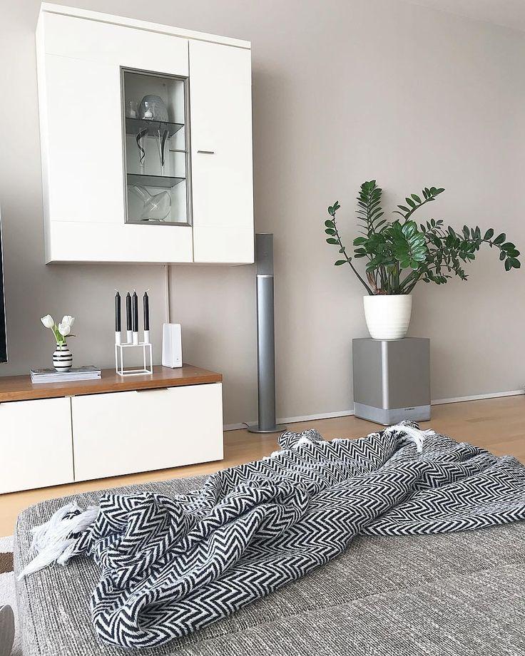 32 best Xxx images on Pinterest Interior decorating, Living room - wohnzimmer deko grau weis