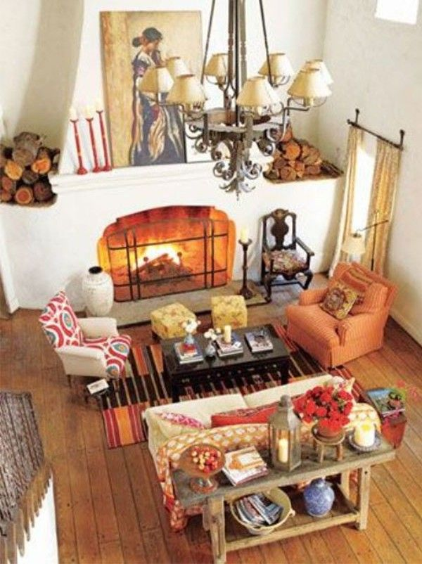 In Her Ojai California Living Room Originally The Main Stable Designer Kathryn M Ieland Went For A Brilliant Mix Of Color And Pattern