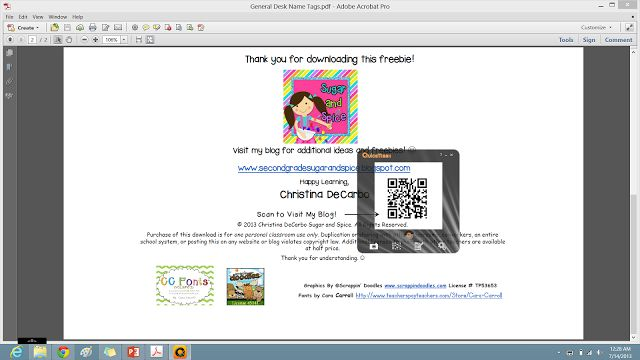 Weekend App Attack: QuickMark QR Code Reader to use on your computer if you don't have an iPad or smartphone in the classroom
