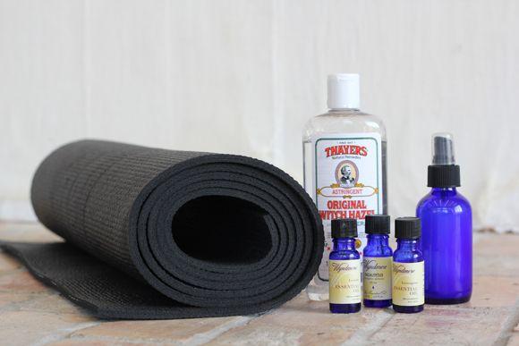 DIY Yoga Mat Cleaning Spray