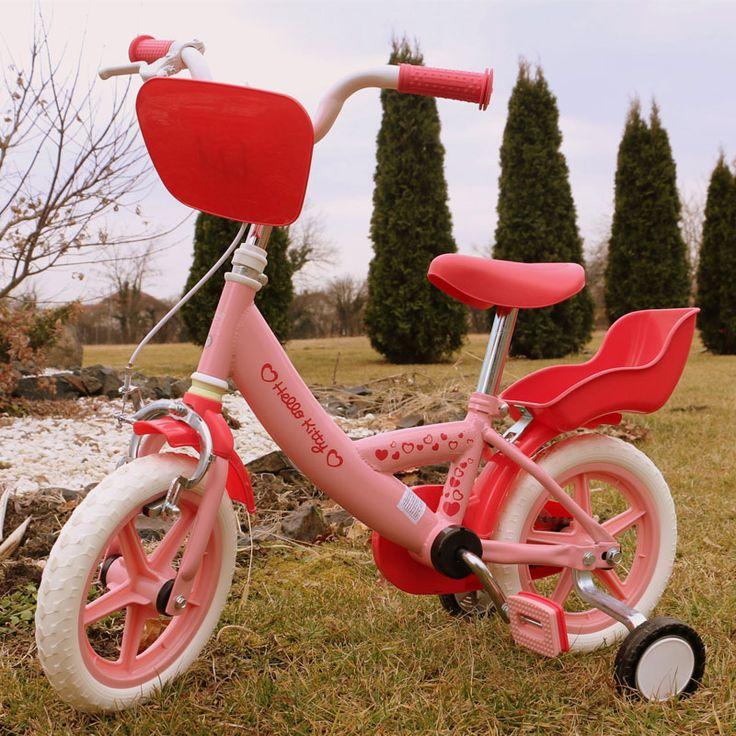 Bicicleta copii Hello Kitty roz Yakari