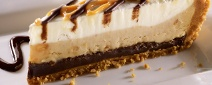Bring your taste buds to life with TGI Fridays Chocolate Peanut Butter Pie Dessert ... it'll leave you wanting more!