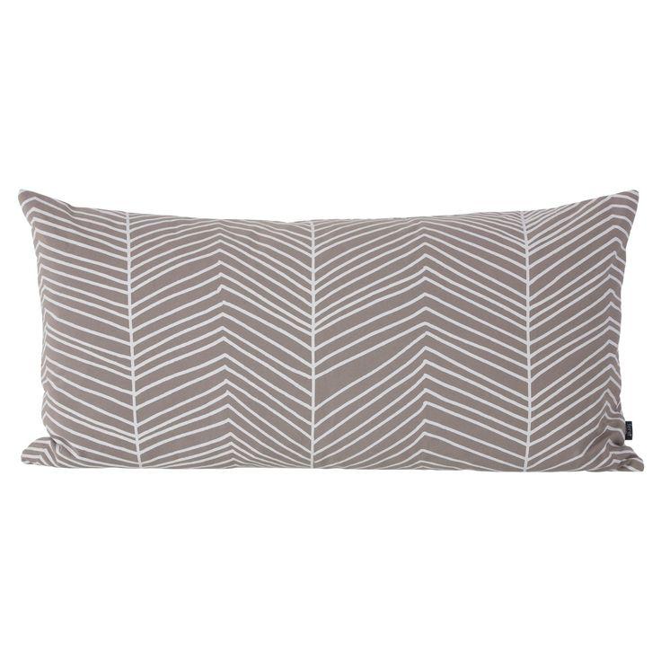 Herringbone kudde, grå – Ferm Living – Köp online på Rum21.se
