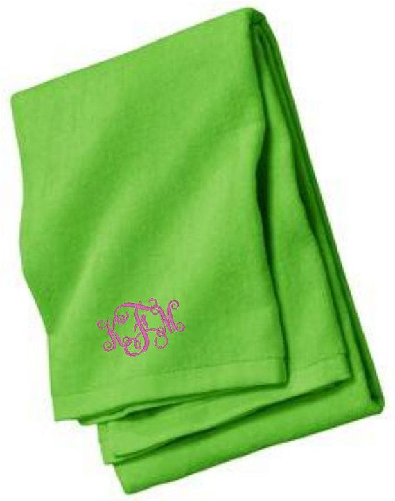 Beach Towels Personalized, Embroidered Beach Towel, Monogrammed Beach Towel, Embroidery Beach Towel, Swim, Custom Beach Towels, Personalized