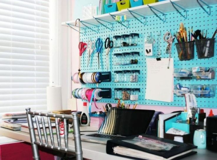 50 easy ways to get organized making use of diy pegboard - Kitchen Pegboard Ideas