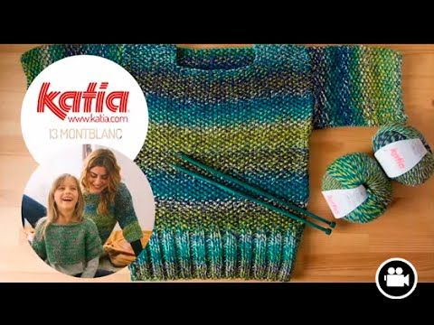 DIY Tejer Jersey · Knit Sweater · Tricoter Pull Montblanc - YouTube