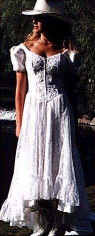 Western Cowboy Weddings Dresses | Western Wedding Gowns                                                                                                                                                                                 More