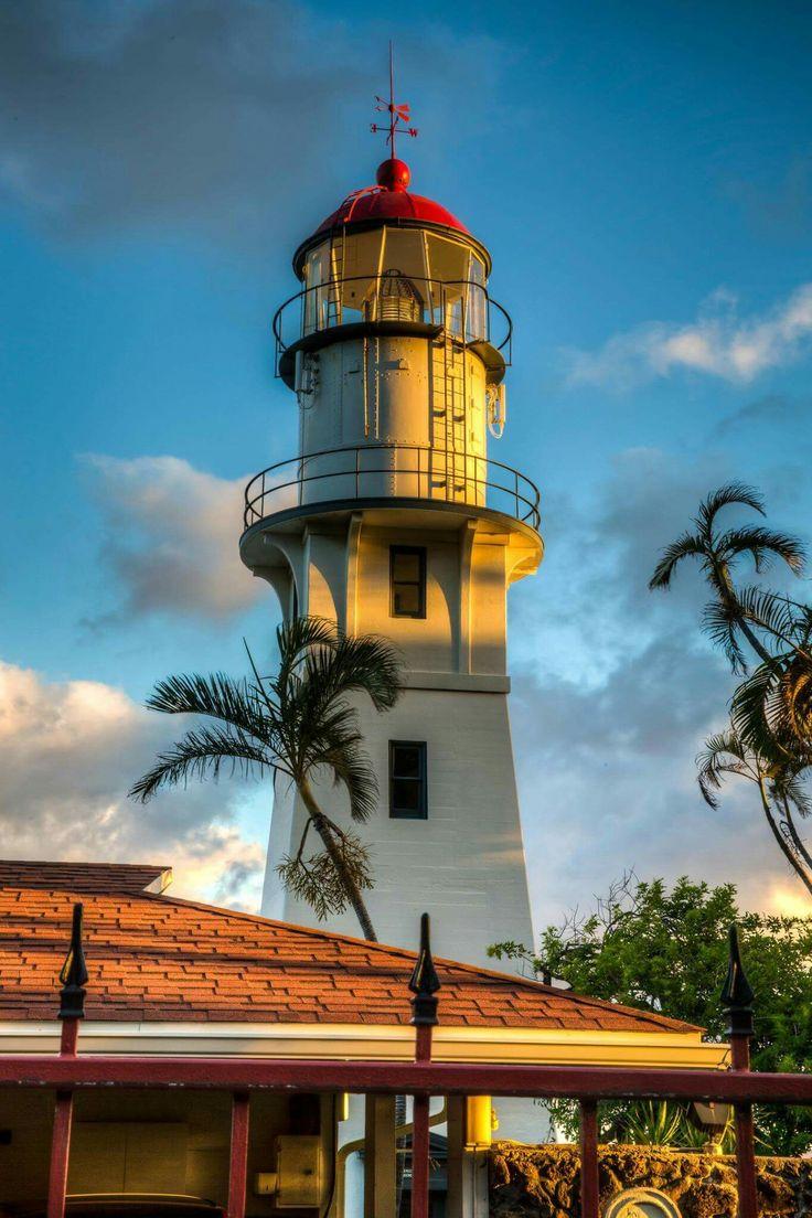Diamond Head Lighthouse, Hawaii