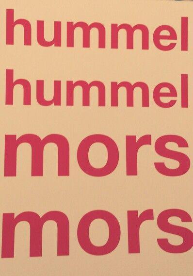 Hummel...