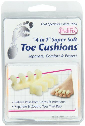 PediFix '4 In 1' Super Soft Toe Cushions, 2 ct, 3 pk Pedifix http://www.amazon.com/dp/B004G8G4PW/ref=cm_sw_r_pi_dp_A5nOub1XA1TYJ
