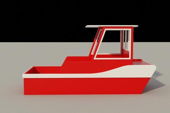 Tug Boat Kids Bed Plans Diy Single Size Toddler Bedroom Furniture Woodworking Makeaboat Kids Beds Plans Boat Bed Make A Boat