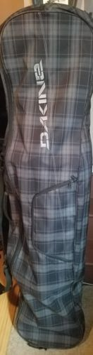Bags and Backpacks 21229: Dakine Black Plaid Snowboard Bag -> BUY IT NOW ONLY: $43 on eBay!